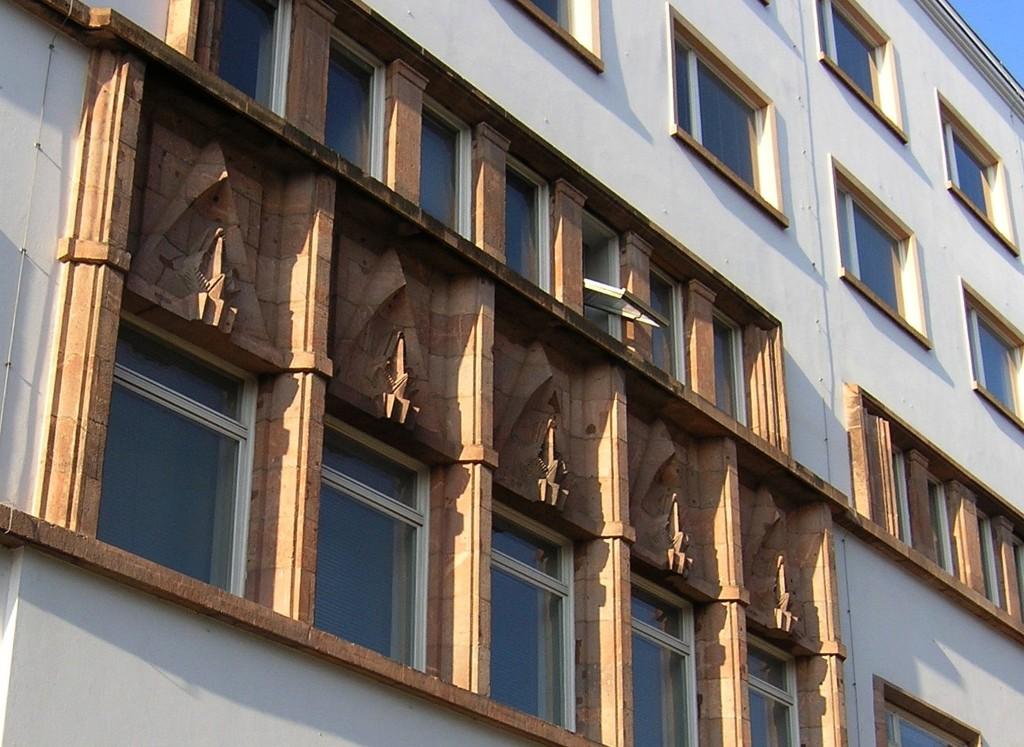 Stresemannstraße: Deutschlandhaus (1926)