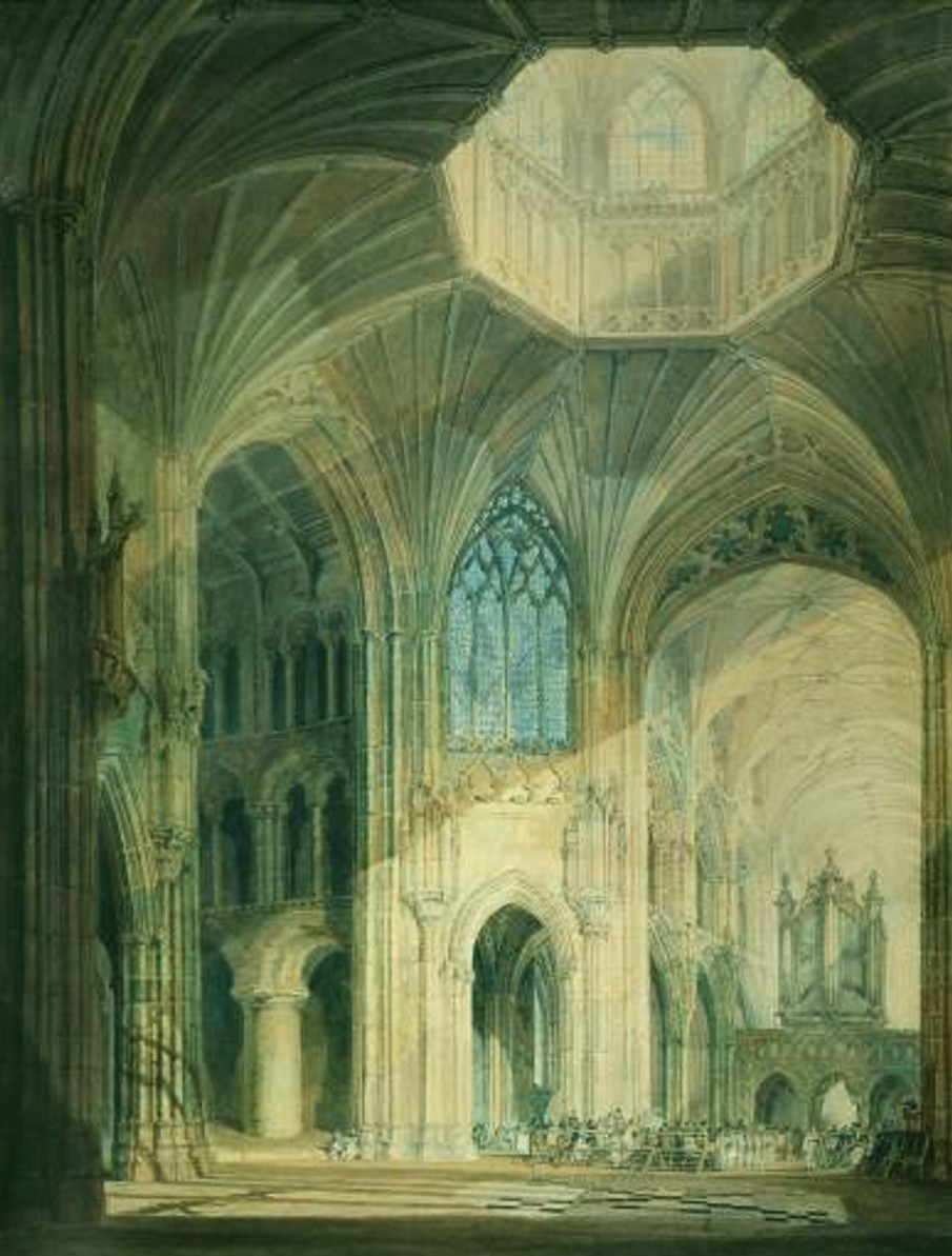 Joseph Mallord William Turner: Ely Cathedral (1797 or earlier; London, Tate Gallery)