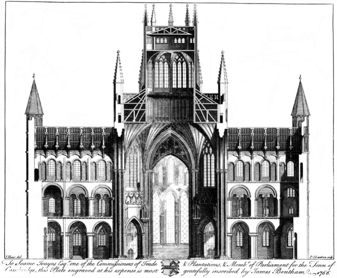 James Bentham: The history and antiquities of the conventual and cathedral church of Ely, Cambridge 1771.
