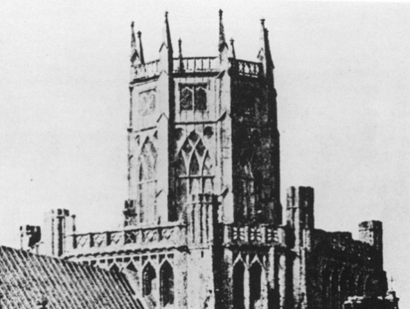 Ely Cathedral: The octagon before the restoration by G.G. Scott
