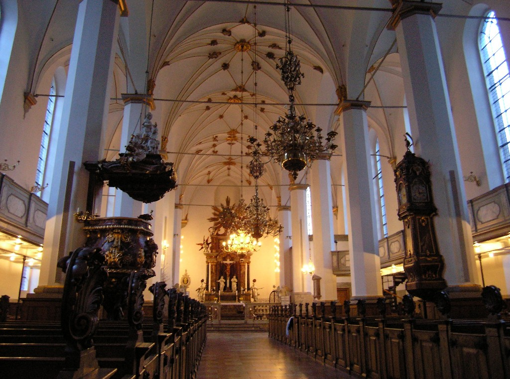 Kopenhagen: Trinitatis Kirke