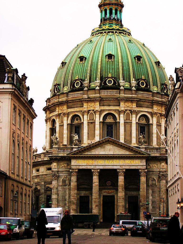 Kopenhagen: Marmorkirke