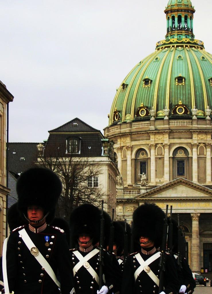 Kopenhagen: Marmorkirke (Frederikskirke)