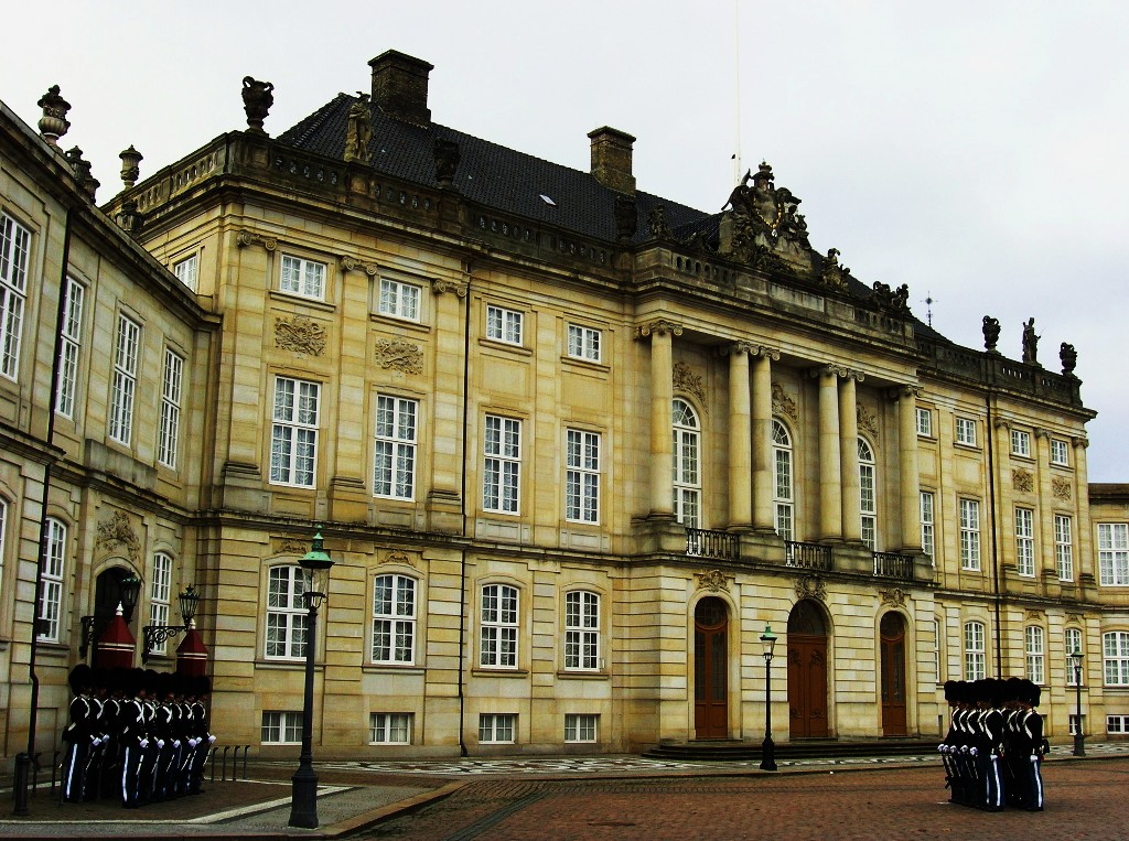 Kopenhagen: Amalienborg Slot (Moltkes Palæ)