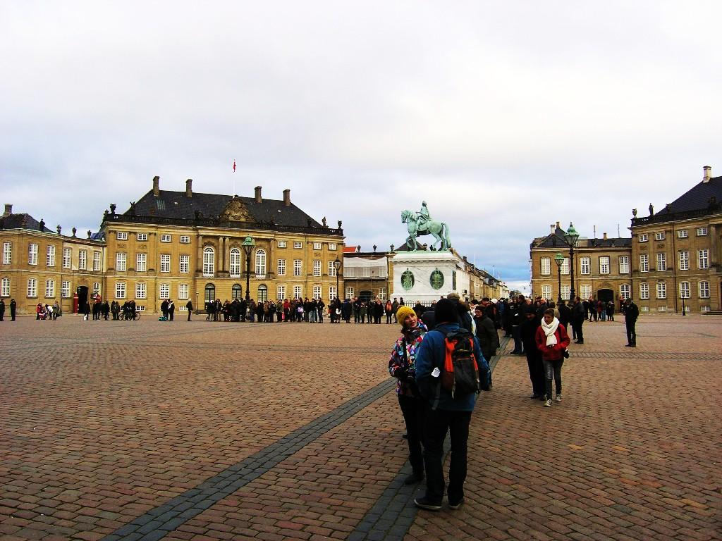 Kopenhagen: Amalienborg Slotsplads