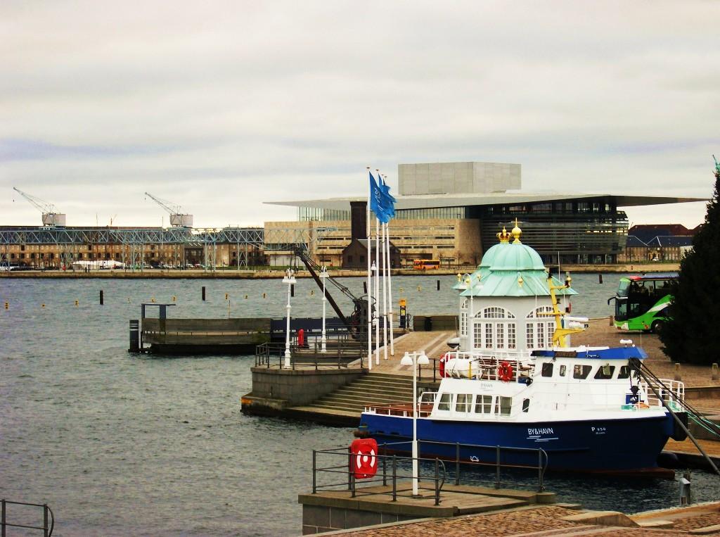 Kopenhagen: Anlegestelle der königlichen Yacht Landing pier of the royal yacht