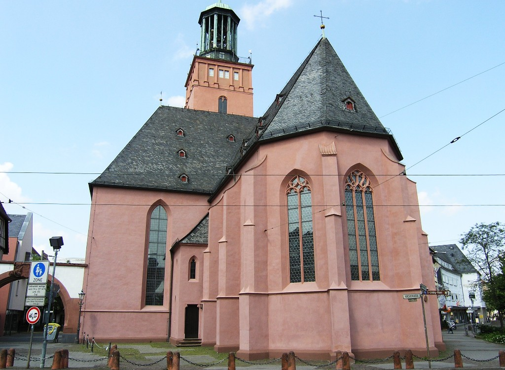 Darmstadt: Stadtkirche - Parish Church
