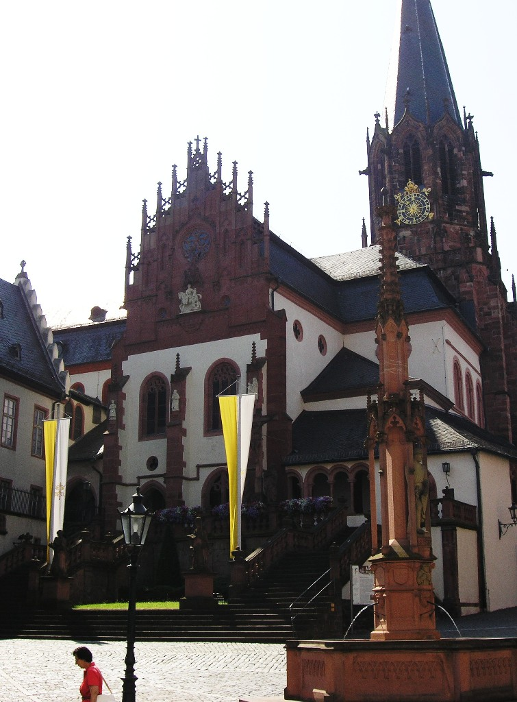 Aschaffenburg: Stiftskirche St. Peter & Alexander