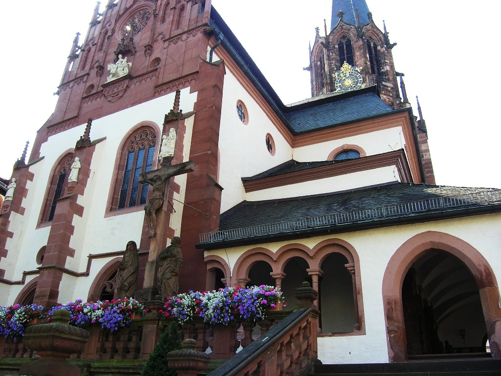 Aschaffenburg: Stiftskirche