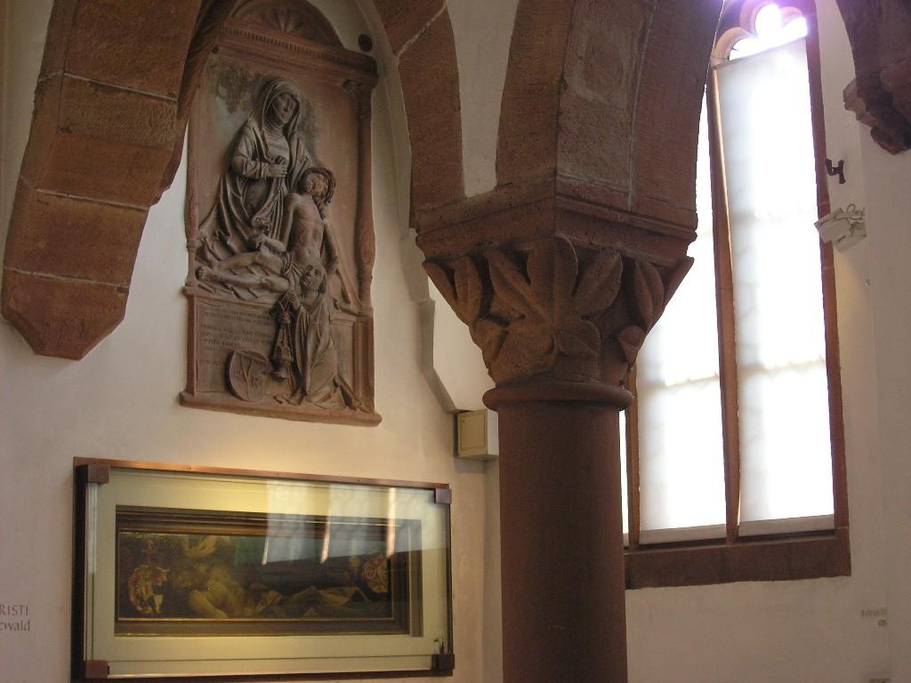 Aschaffenburg: Stiftskirche.  Südliches Seitenschiff / South aisle