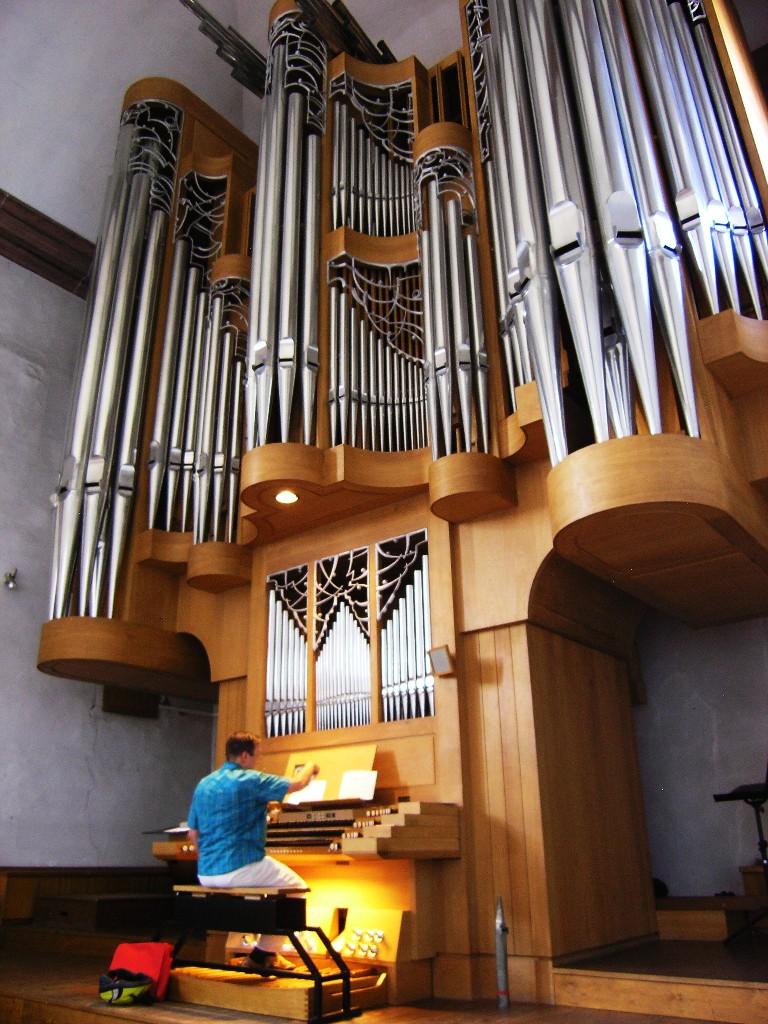 Aschaffenburg: Stiftskirche.  Orgel / Organ (1984 & 2013; Klais Orgelbau, Bonn)