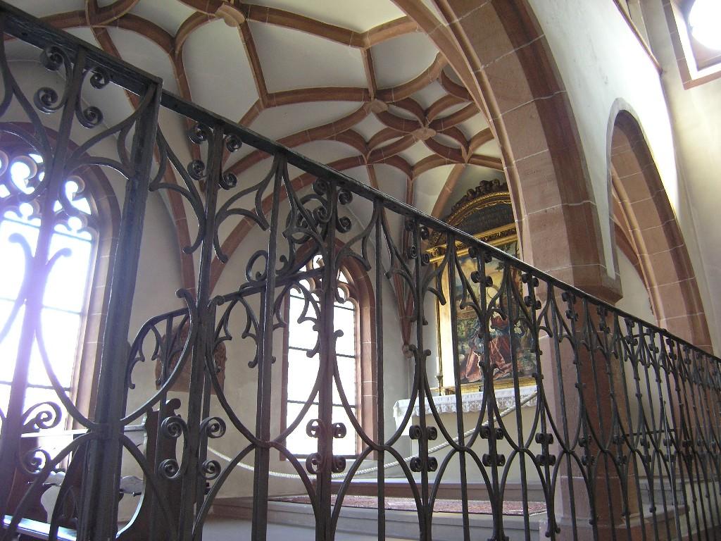 Aschaffenburg: Stiftskirche.  Kapelle Maria Schnee
