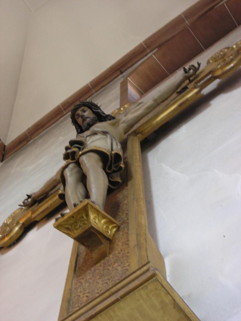 Aschaffenburg: Stiftskirche.  Kruzifix (1862; Ludwig Voltz)