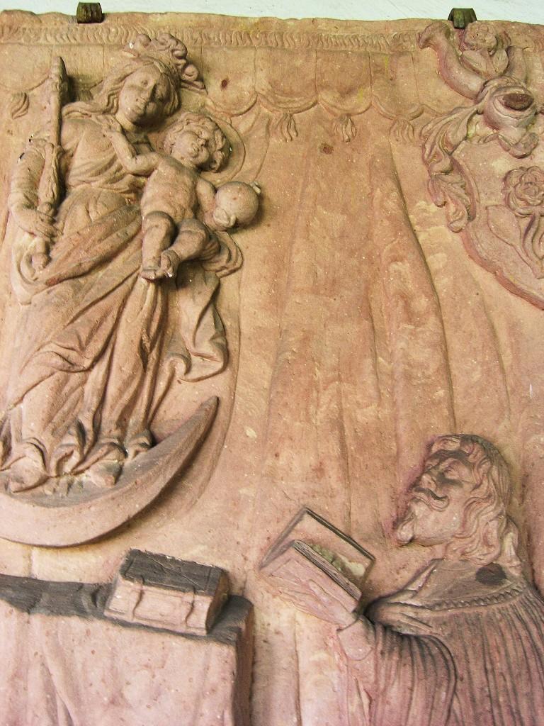 Aschaffenburg: Stiftskirche.  Kreuzgang