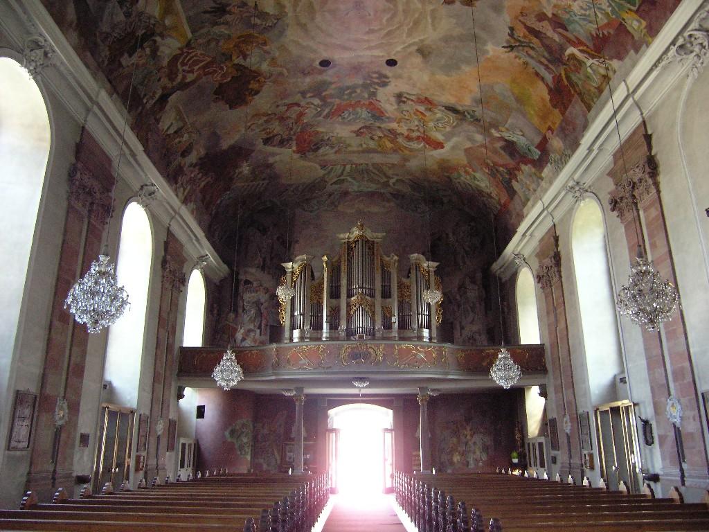 Aschaffenburg: Pfarrkirche Unser Lieben Frau