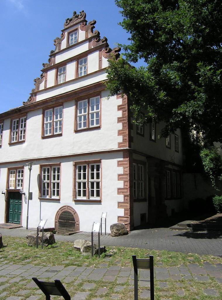 Aschaffenburg: Haus Zum Storchennest (um 1600)