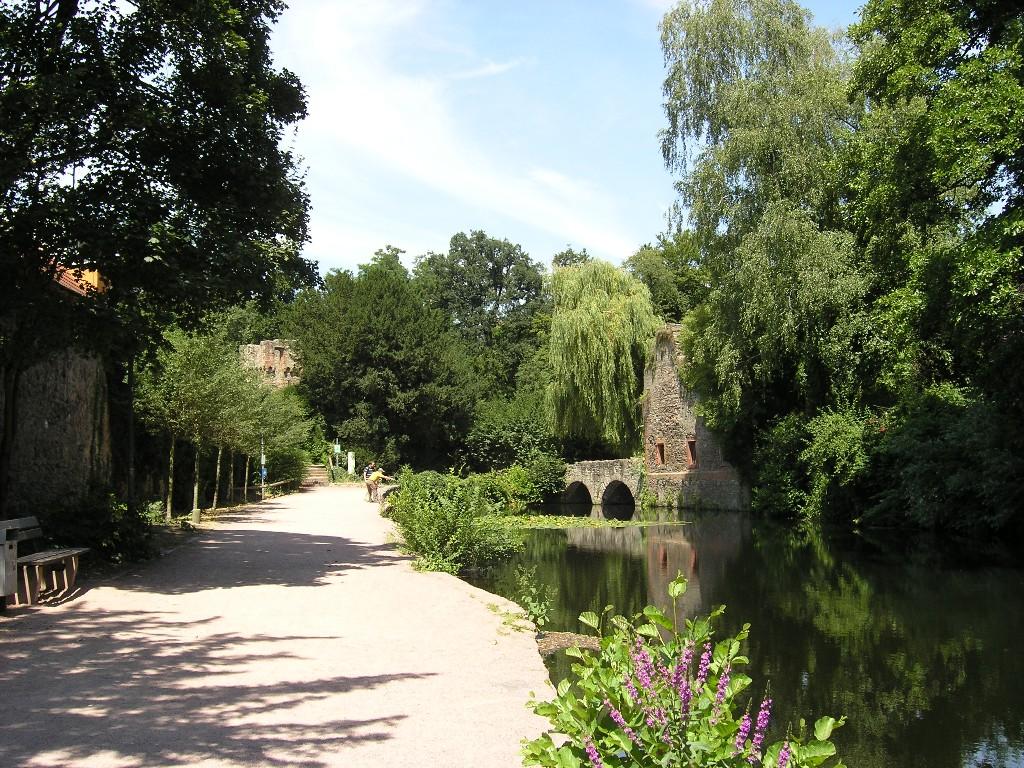 Aschaffenburg: Park Schönthal