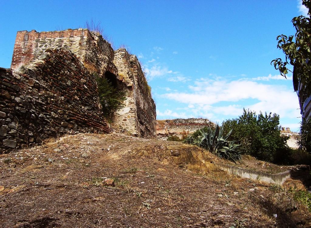 Thessaloníkē: Stadtmauern