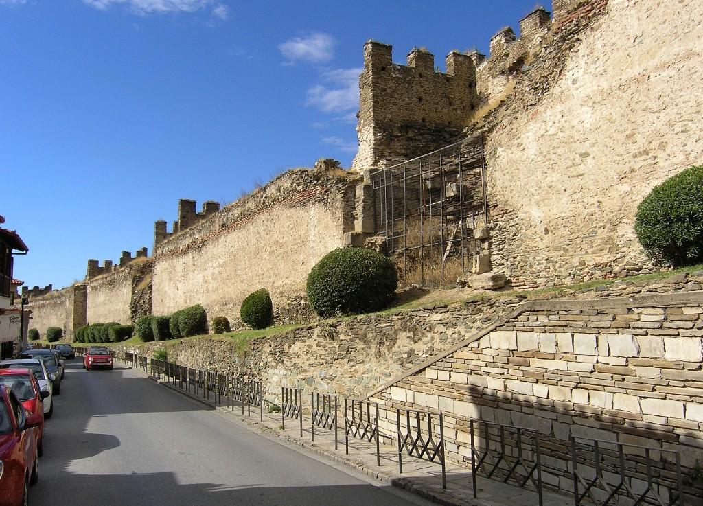 Thessaloníkē: Satdtmauern