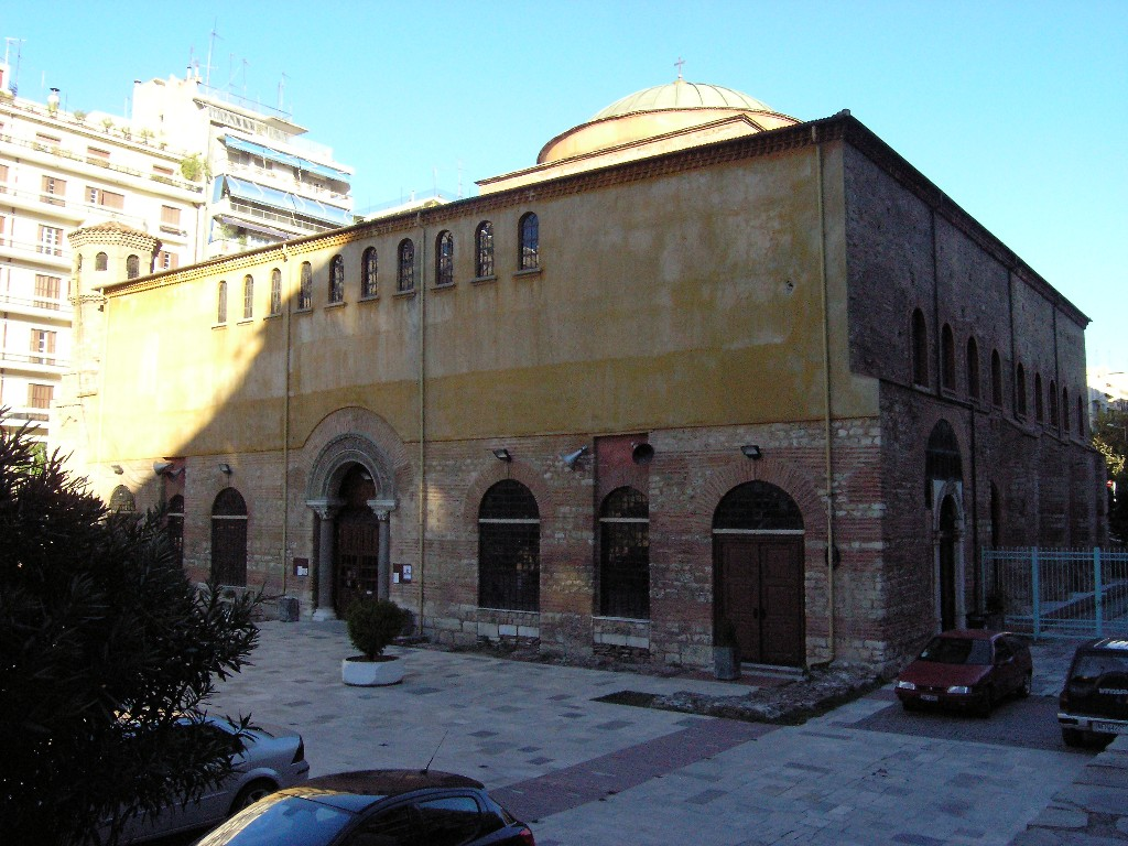 Thessaloníkē: Hagía Sophía