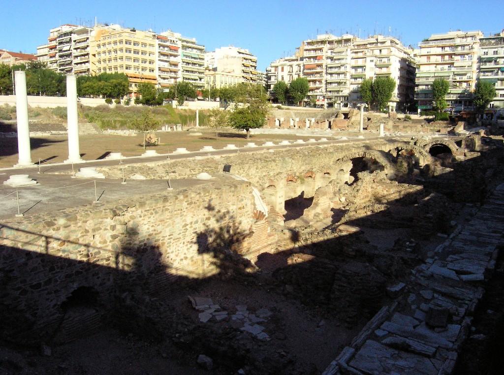 Thessaloníkē: Römisches Forum -- Roman Forum
