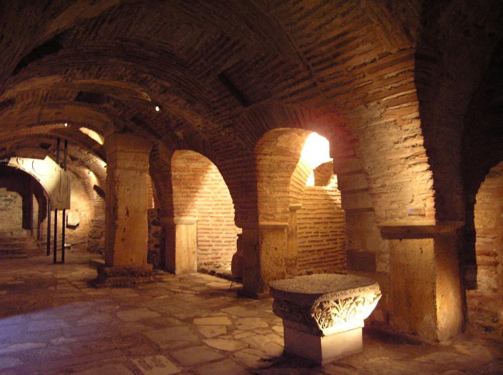 Thessaloníkē: Dēmḗtrios-Basilika.  Krypta