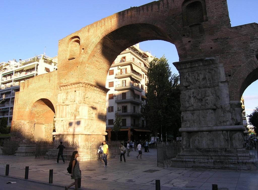Thessaloníkē: Galerius-Bogen -- Arch of Galerius