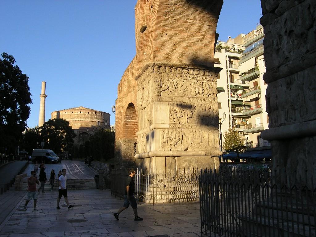 Thessaloníkē: Galerius-Bogen