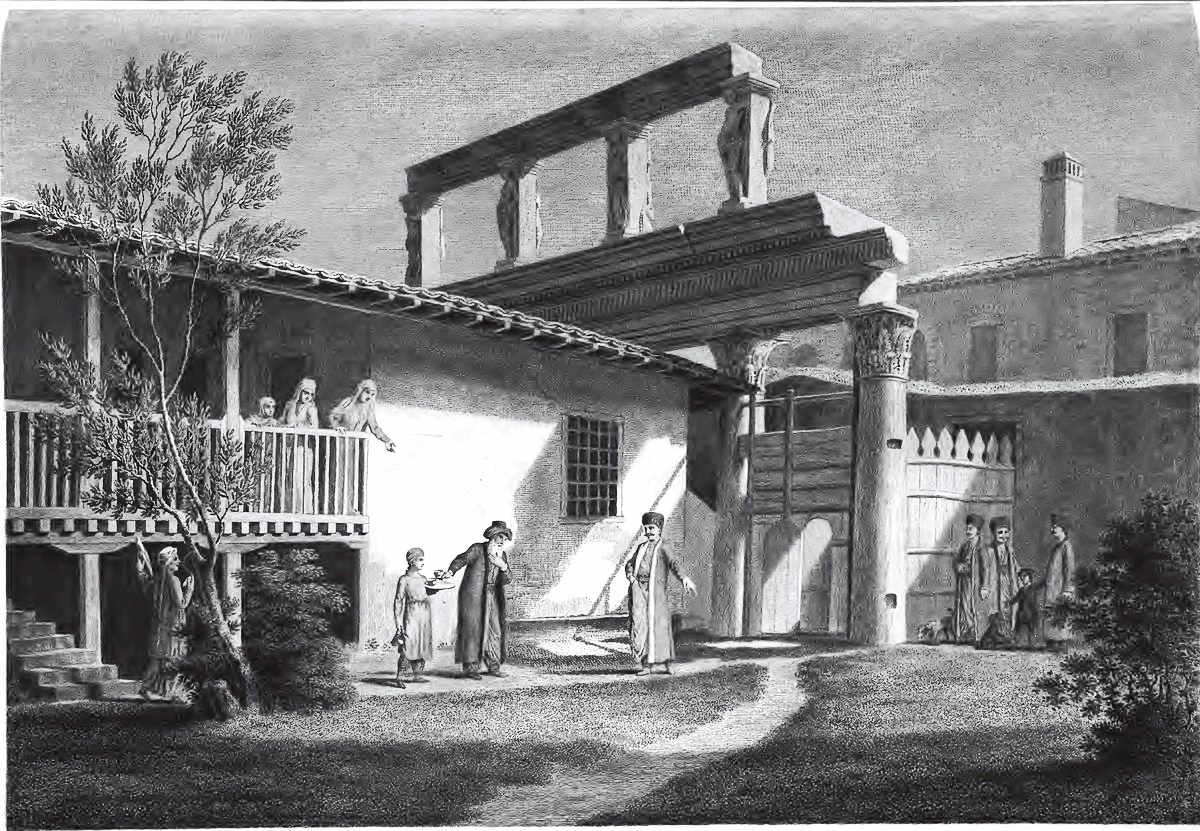 Thessaloníkē: Las Incantadas (J. Stuart/N. Brevett, Antiquities of Athens vol. iii, London 1794)
