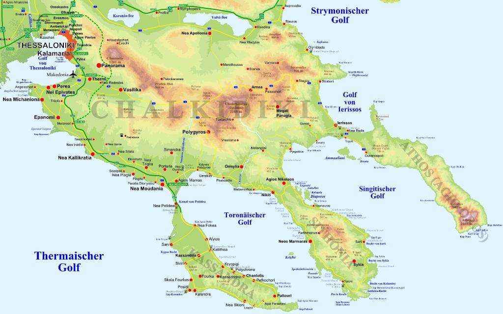 chalkidike karte1